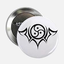 "Tribal BDSM Symbol 2.25"" Button"