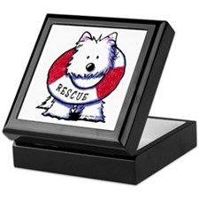 Rescue Westie Keepsake Box
