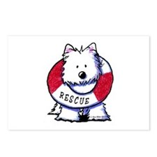 Rescue Westie Postcards (Package of 8)