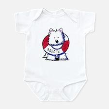 Rescue Westie Infant Bodysuit