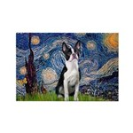 Starry Night Boston (#2) Rectangle Magnet (10 pack