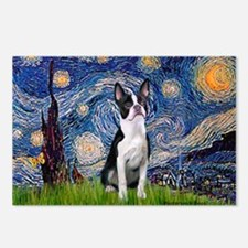 Starry Night Boston (#2) Postcards (Package of 8)