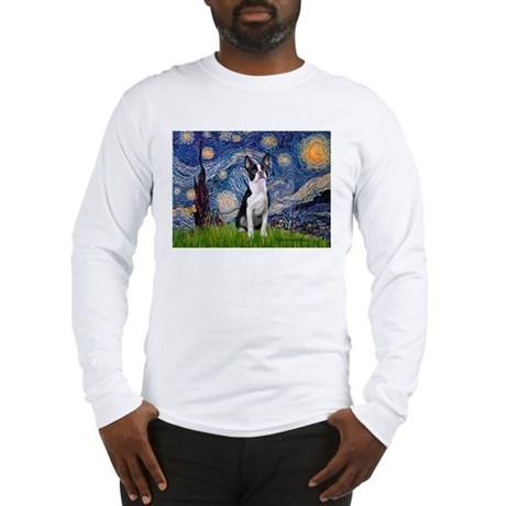 Starry Night Boston (#2) Long Sleeve T-Shirt
