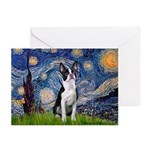 Starry Night Boston (#2) Greeting Cards (Pk of 20)