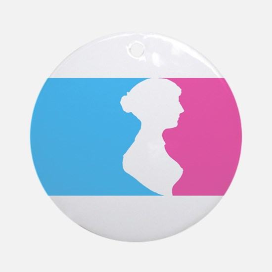 Major League Jane Austen Lt Ornament (Round)