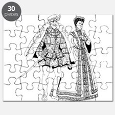 Renaissance of traditional character Puzzle