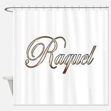 Gold Raquel Shower Curtain