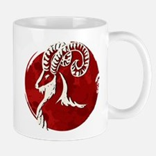 Chinese new year of the goat Mugs
