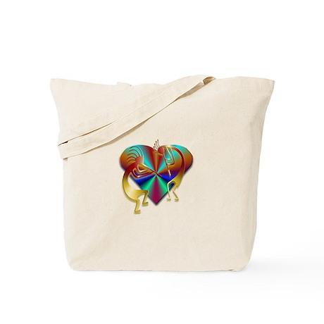Two Kokopelli #45 Tote Bag