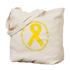 Gold Hope Tote Bag