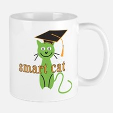 Funny Grad Smart Cat Mugs