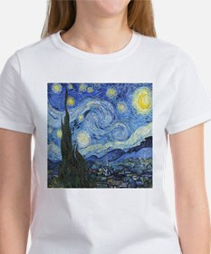 Van Goghs Starry Night T-Shirt