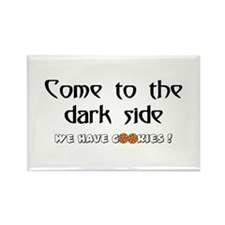 Cute Come dark side Rectangle Magnet