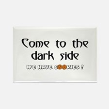 Cute Come to the dark side we have bacon Rectangle Magnet