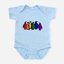 rainbow penguins Body Suit