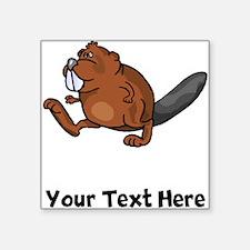 Beaver Walking (Custom) Sticker