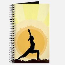 Yoga Warrior Pose Journal