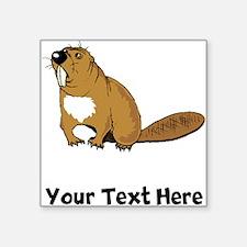 Brown Beaver (Custom) Sticker