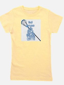 Cute Girls lacrosse Girl's Tee