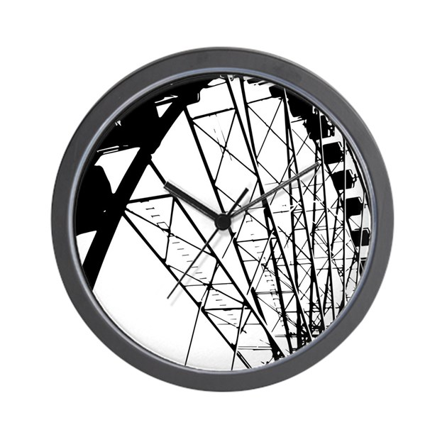 Fairground Big Wheel Wall Clock by ADMIN_CP133759785