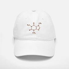 Caffeine Molecular Chemical Formula Baseball Baseball Cap