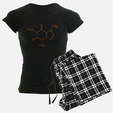 Caffeine Molecular Chemical Formula pajamas