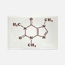 Caffeine Molecular Chemical Formula Magnets
