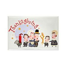 Thanksgiving Rectangle Magnet