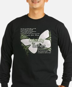 Beauty For Ashes t-shirt black2.psd Long Sleeve T-