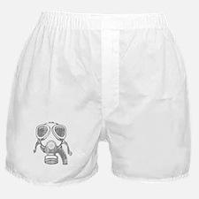 gas mask Boxer Shorts