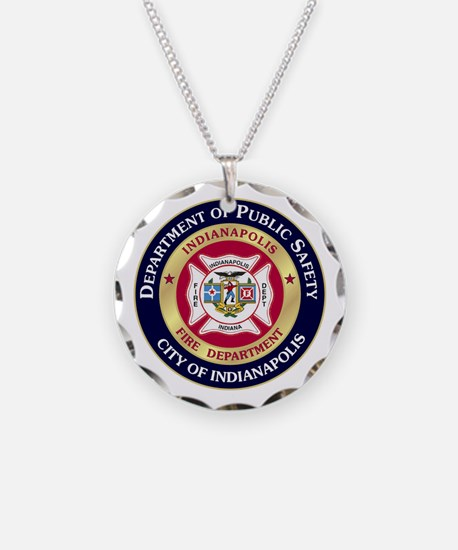 Indianapolis Fire Necklace