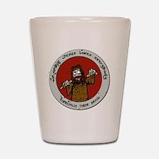 Zombie Jesus Loves Everybody... Especia Shot Glass