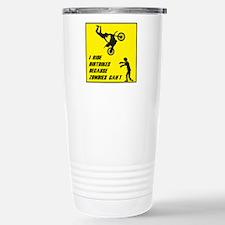 I Ride Dirt Bickes Beca Travel Mug