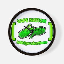 Vape Nation Wall Clock