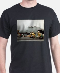 F14B Tomcat Ash Grey T-Shirt US Navy Aviation gif