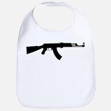 Gun silhouette collection Bib