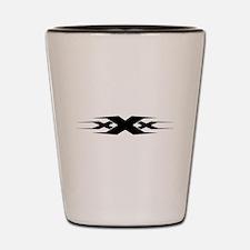 XXX design art Shot Glass