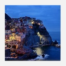 Italy Cinque Terre Tourist destinatio Tile Coaster