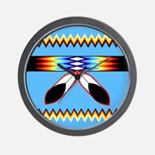 Cute Indigenous Wall Clock