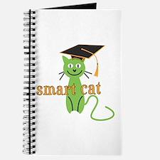 Funny Grad Smart Cat Journal