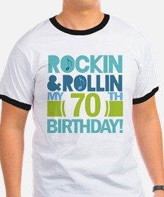 70th Birthday Rock T-Shirt
