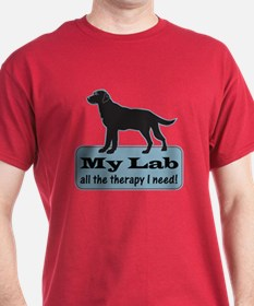 Black Lab Therapy - T-Shirt