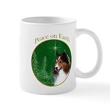 Sable Sheltie Peace Mug