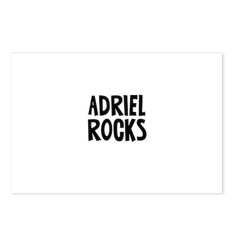 Adriel Rocks Postcards (Package of 8)