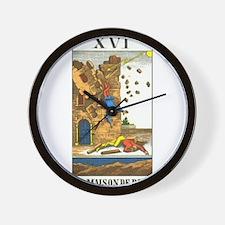 tarot card Wall Clock