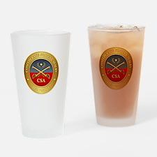 CS Cavalry Drinking Glass