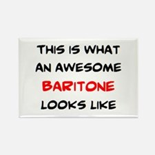 awesome baritone Rectangle Magnet