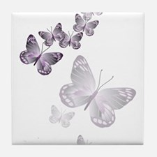 I Spy Butterflies Tile Coaster