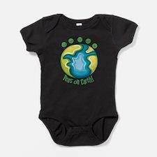 Cute Peas earth Baby Bodysuit