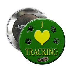 I love tracking buttons (10 pack)